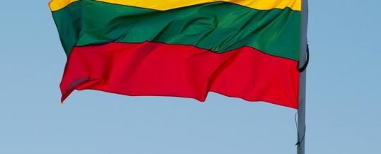 Obowiązkowy formularzy przy wjeździe na Litwę.